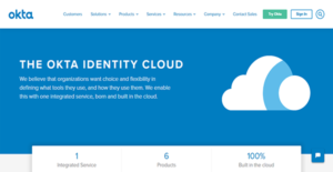 Logo of Okta Identity Cloud