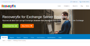 Logo of RecoveryFix for Exchange Server Recovery