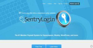 Logo of Sentry Login