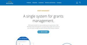 Logo of Workday Grants Management