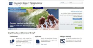 Logo of Common Grant Application