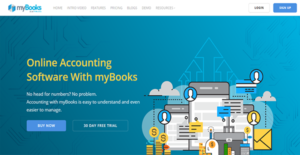 Logo of myBooks Online Accounting Software