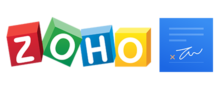 Logo of Zoho Sign
