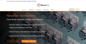 Logo of Neverfail Workspaces