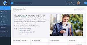Logo of Really Simple Systems CRM
