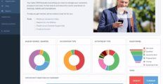 Really Simple Systems CRM dashboard 1