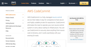 Logo of AWS CodeCommit