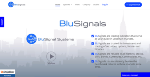 Logo of BluSignals