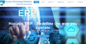 Logo of Horizon ERP