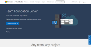 Logo of Team Foundation Server