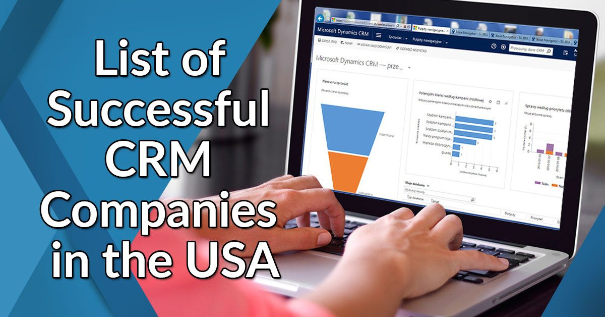 List of Successful CRM Companies in the USA