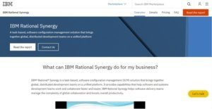 Logo of IBM Rational Synergy