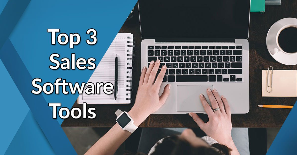 top 3 sales software tools