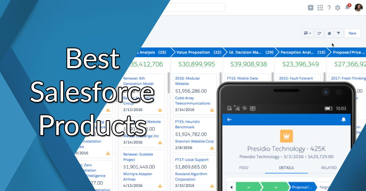 Best Salesforce products