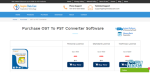 Logo of Inspire OST To PST Converter