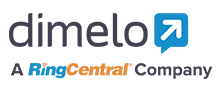 Logo of Dimelo By RingCentral