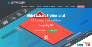 Logo of Able2Extract Professional