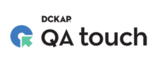 Logo of QA touch