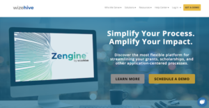 Logo of Zengine by WizeHive