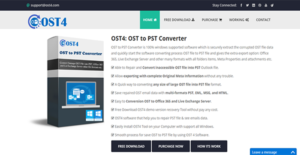 Logo of OST4 OST to PST Converter