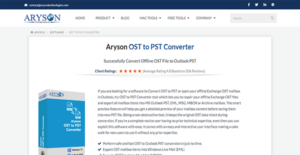 Logo of Aryson OST to PST Converter