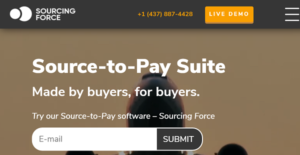 Logo of Sourcing Force