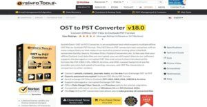 Logo of SysInfoTools OST to PST Converter