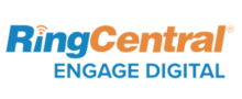 Logo of RingCentral Engage Digital