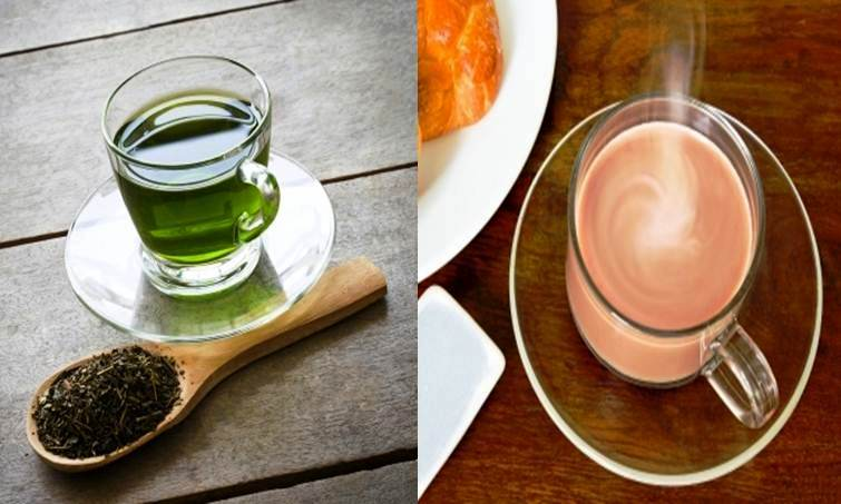 "The ""healthier"" green tea and the ""richer"" chocolate drink are  two of the most popular coffee substitutes today"