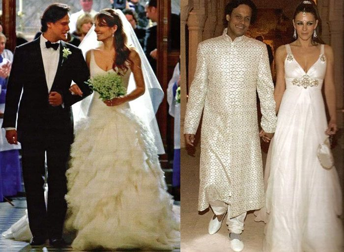 British Model Actress Elizabeth Hurley Tied The Knot With Indian Businessman Arun Nayar Twice First Was In 2007 Which Held At Sudeley Castle