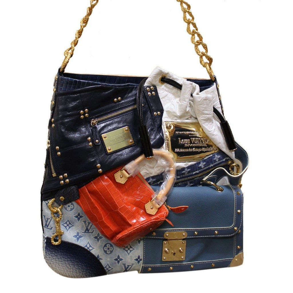 Top 10 most popular fashion brands in the world -  8 Lv Tribute Patchwork Bag 42 000
