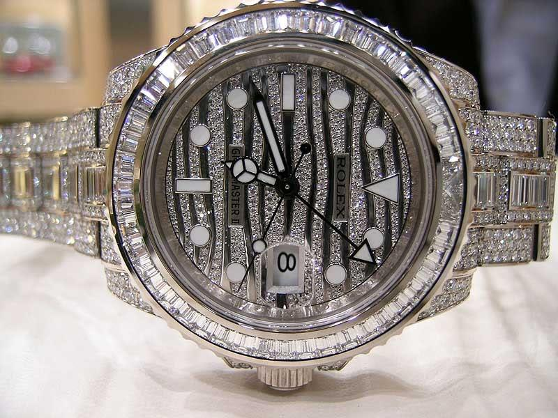 10 really expensive diamond crusted watches. Black Bedroom Furniture Sets. Home Design Ideas