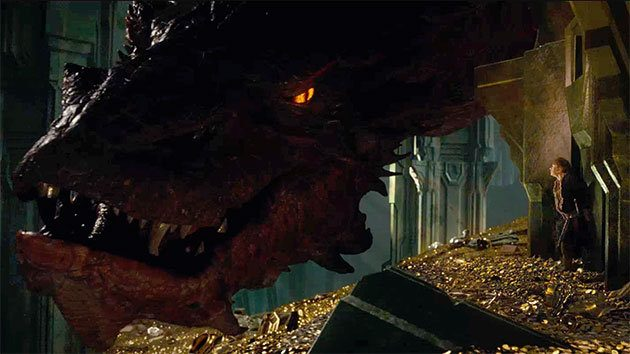 Erebor The Hobbit Smaug